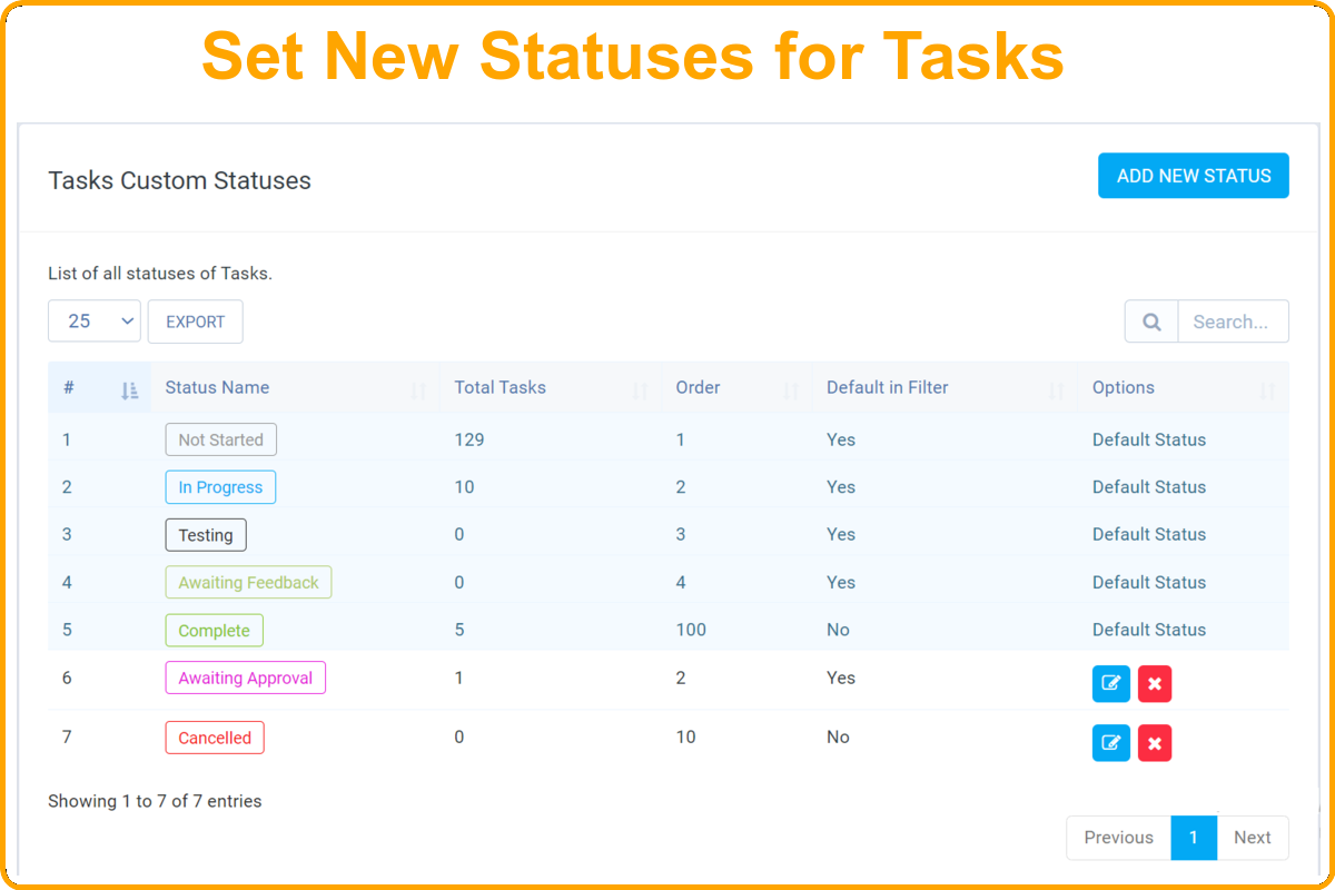 Add-on Statuses Module for Perfex CRM - 2